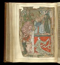 Rule of St Benedict and the Regularis Concordia f.117v